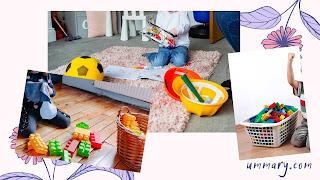 Tips Merapikan mainan