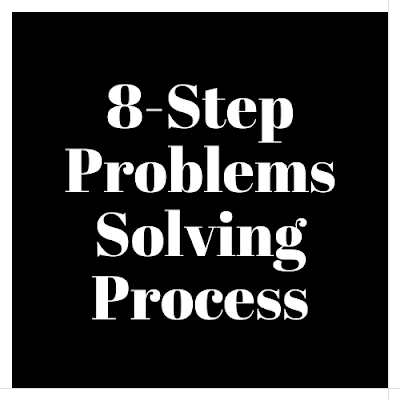 8-Step Problems - Solving Process