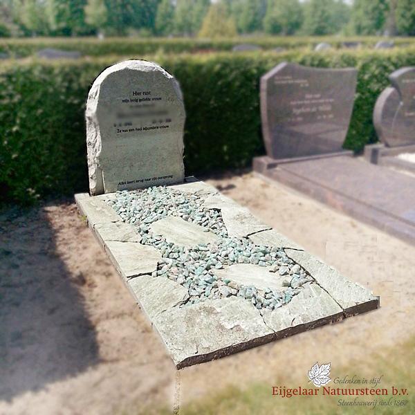 natuurlijke grafsteen, ruwe grafsteen