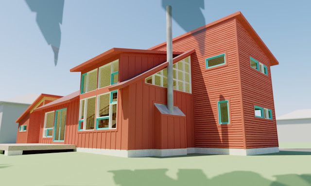 Modern house plans by gregory la vardera architect 0385 for Clerestory house plans