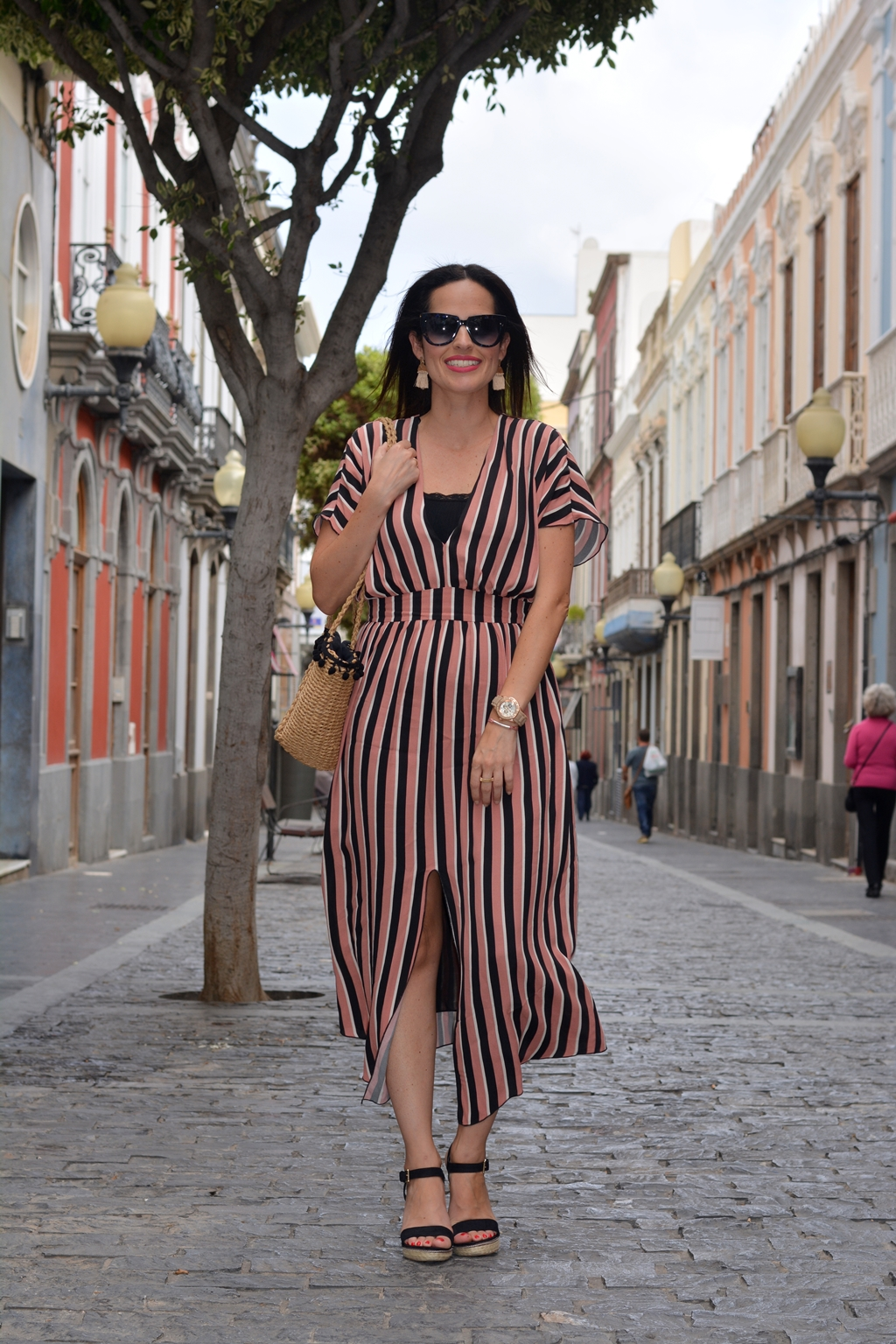 zara-striped-midi-dress-daily-looks