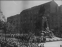 Pomnik Grunwaldzki  fot. szukajwarchiwach.gov.pl 1935