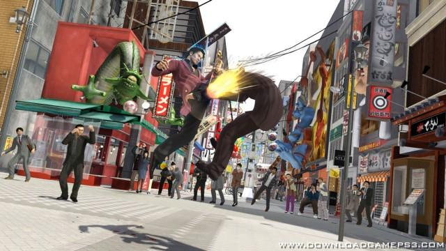 Yakuza 5 PSN - Download game PS3 PS4 RPCS3 PC free