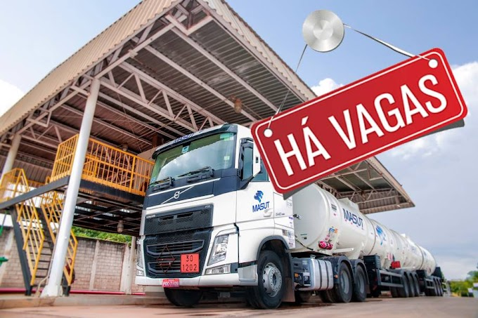 Transportadora Masut abre vagas para Motorista em Tocantins