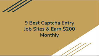 Top 9 free online captcha entry job sites without investment
