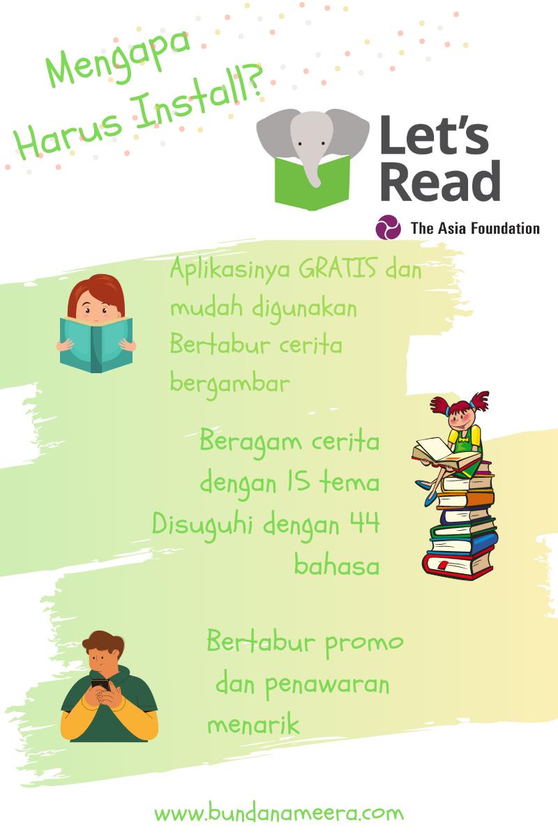 membaca melalui let's read