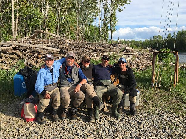 Kat and the boys at Malin