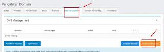 Nama Domain dengan Blogspot Anda