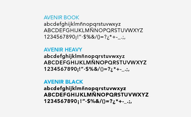 Tipografías de logotipo