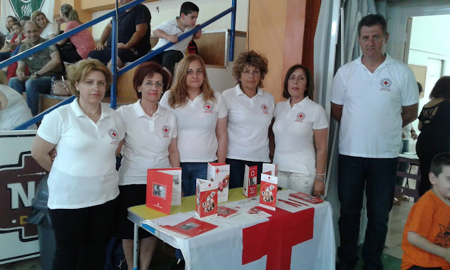 Εθελοντές Νοσηλευτικής του Ε.Ε.Σ Άργους στον 1ο Διασυλλογικό Αγώνα Μπάσκετ