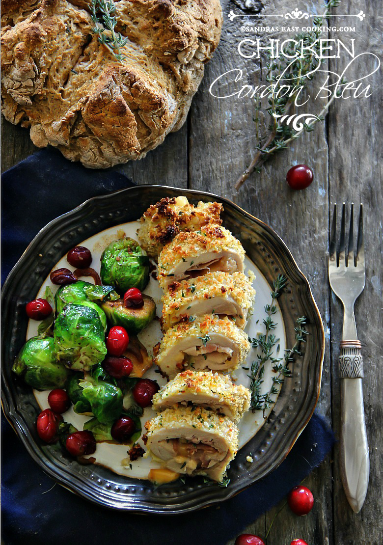 Chicken Cordon Bleu #Recipe