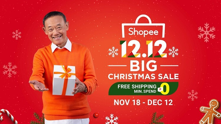 Shopee Announces 12.12 Big Christmas Sale