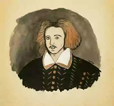 Marlowe also added to the conception of tragedy. He broke, partly with mediaeval conception in which tragedy was the fall of a great man