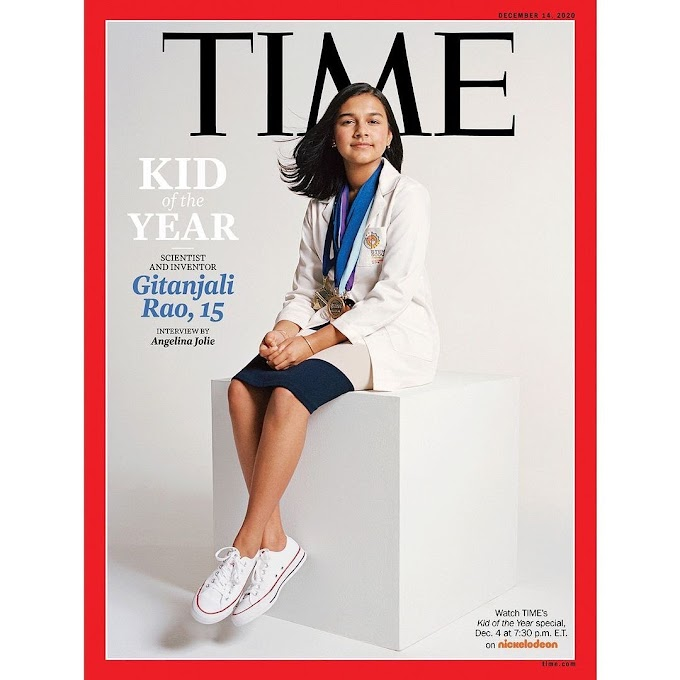 Gitanjali Rao is TIME's First-Ever Kid of the Year