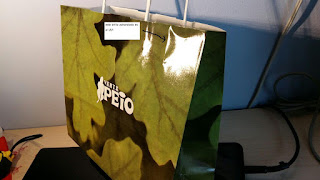 bolsa papel brillo