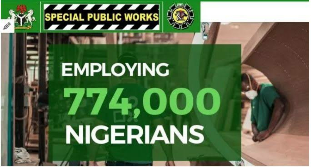UPDATES: Minister Speaks About the payments of SPW (774,000 JOBS) stipends