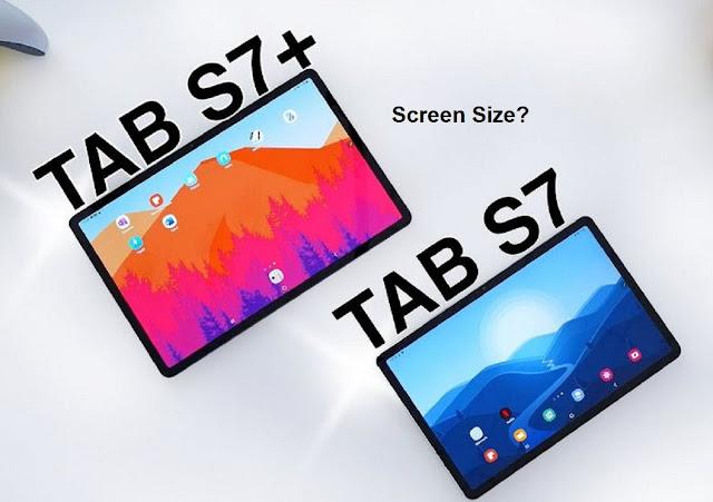 Samsung Galaxy Tab S Screen size