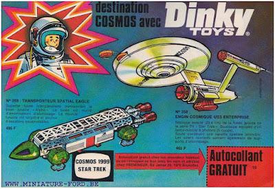 Dinky Toys, publicités de 1977
