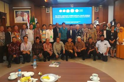Muhammadiyah Bangga Menjamu Peserta Konferensi Zhenghe