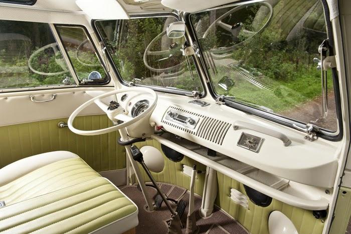 1964 Volkswagen Camper 21 Window Samba Deluxe Auto