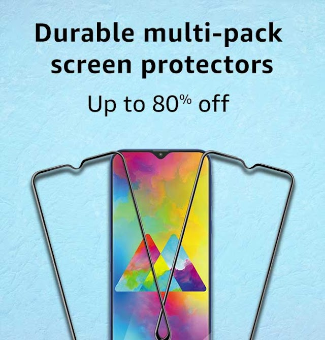 Durable Multi-Pack Screen Protectors - [SAVE UPTO 80%]