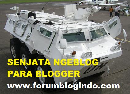 31 Senjata Ngeblog Wajib Digunakan para Blogger