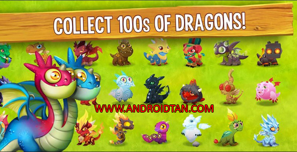 Download Dragon City Mod Apk Unlimited Money
