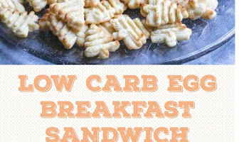 LOW CARB EGG BREAKFAST SANDWICH