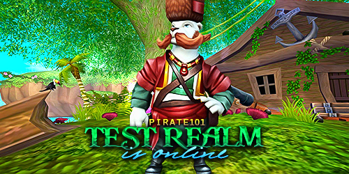 Frostcaller: Pirate101 Test Realm is Online