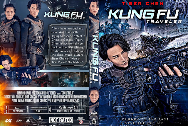 Kung Fu Traveler DVD Cover