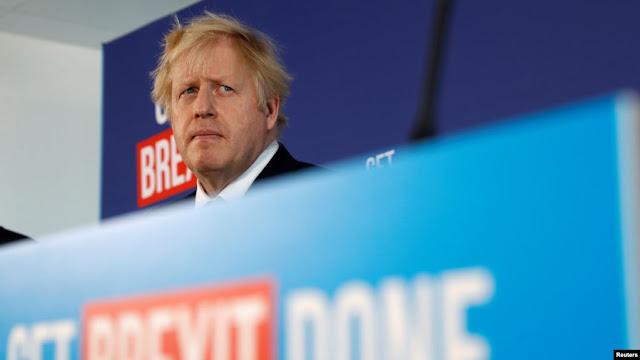 Boris Johnson pide a Trump que se mantenga alejado de las elecciones británicas