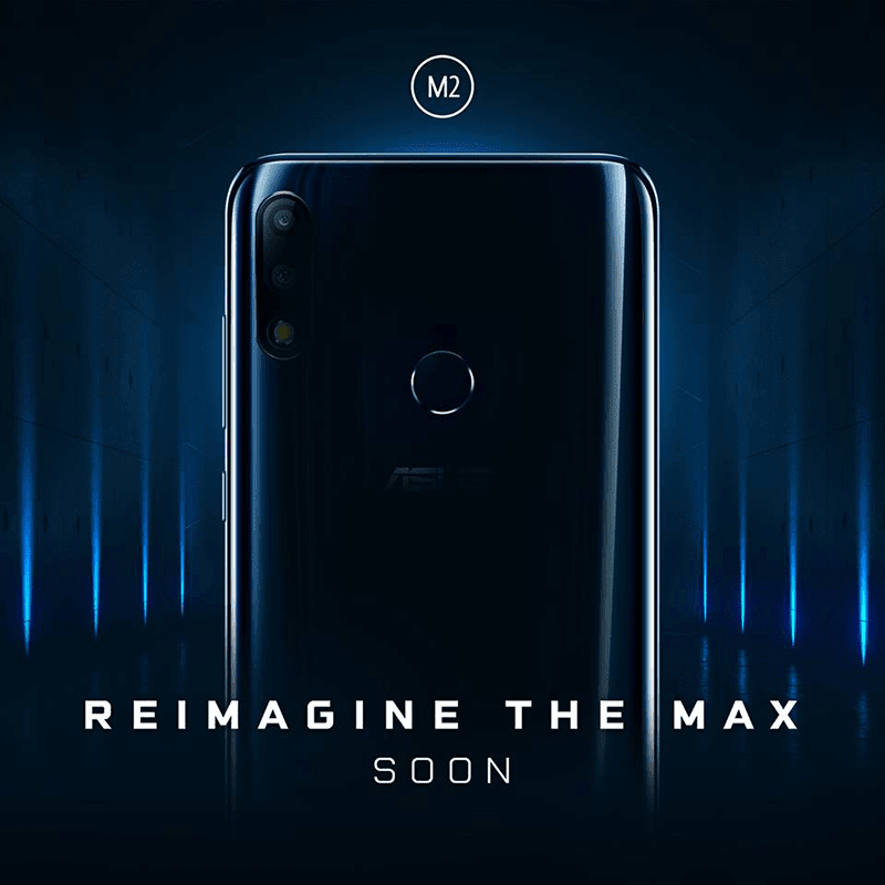 ASUS teases the ZenFone Max M2!
