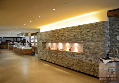 rivestimenti interni in pietra ricomposta