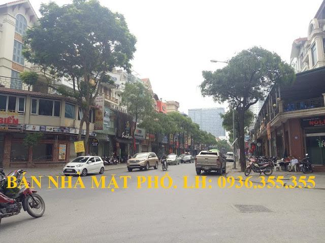 Bán nhà mặt phố Trung Hòa, Vũ Phạm Hàm