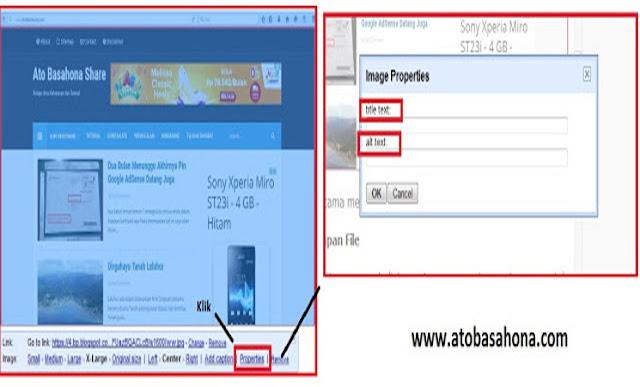 Cara Cepat dan Mudah Optimasi Gambar Postingan di Blog Agar Seo