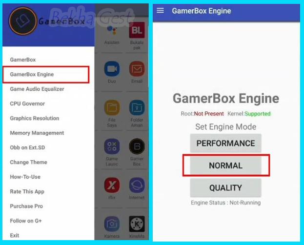 Cara Mengatasi Lag, Ping Merah, Patah Patah Di Mobile Legend Menggunakan Aplikasi GamerBox