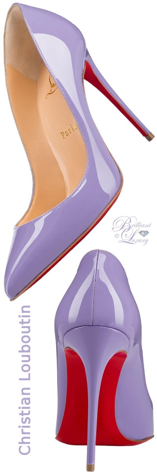 Brilliant Luxury ♦ Christian Louboutin Pigalle Follies superfine stiletto heels in hortensia