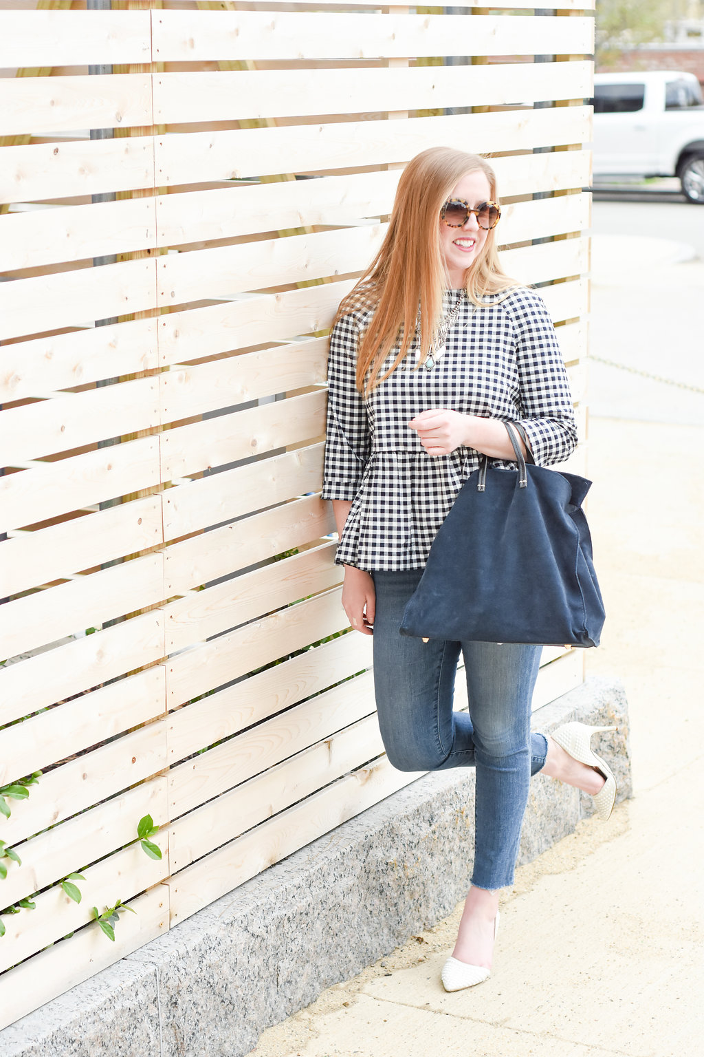 target victoria beckham boston; boston target style blogger; gingham spring style; boston spring style; boston bloggers spring; new england fashion blogger
