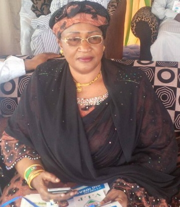 women affair minister faints idp camp