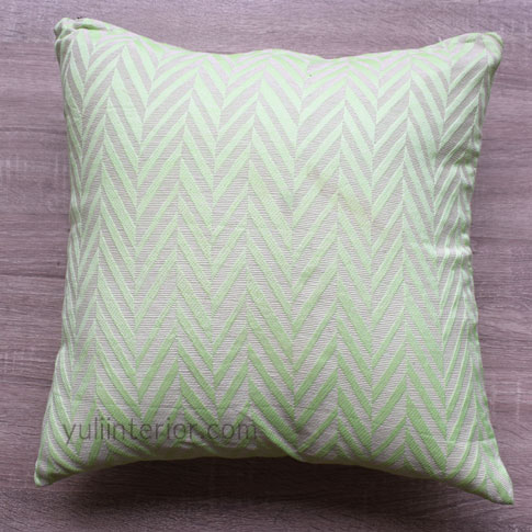 Buy Lemon Green Chevron Pattern Accent Throw Pillows in Port Harcourt, Nigeria