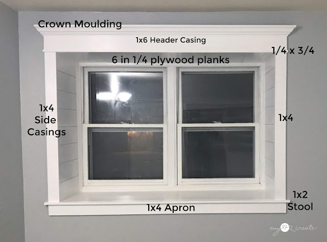 Trim on window