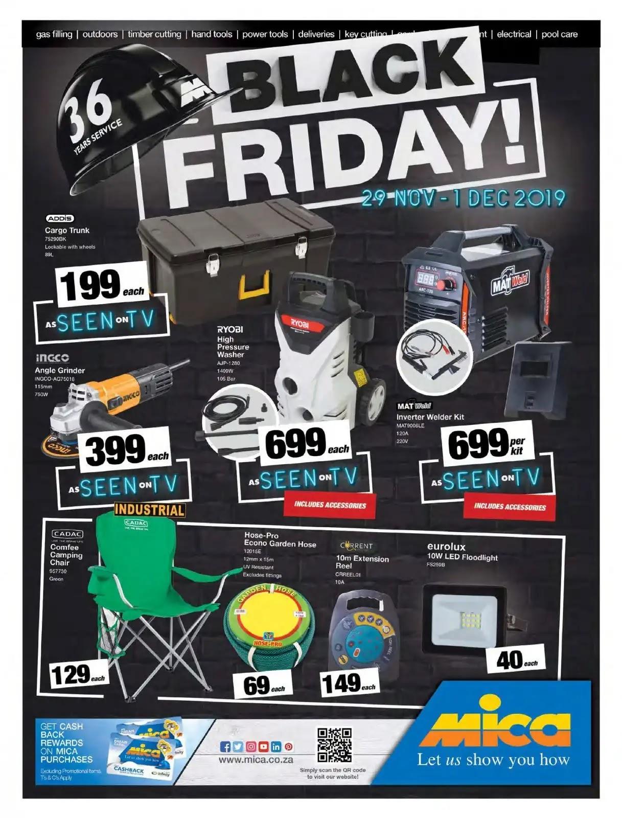 Mica Black Friday Deals