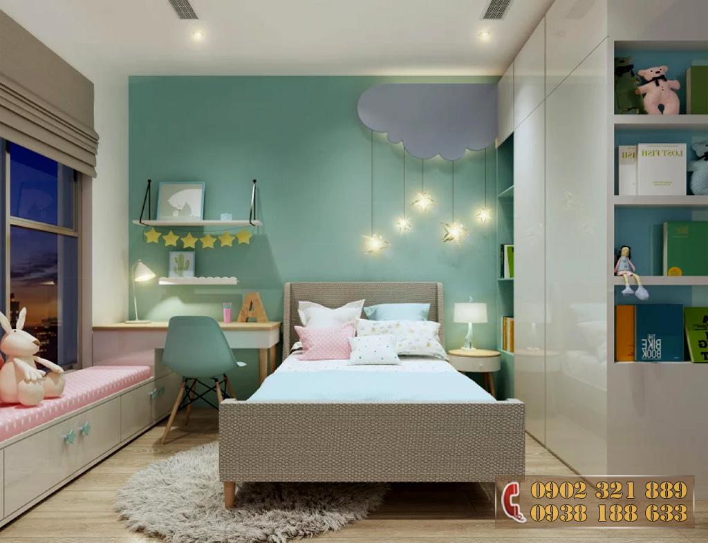Nội thất căn hộ Kingdom 101 - Phòng ngủ căn hộ 2A