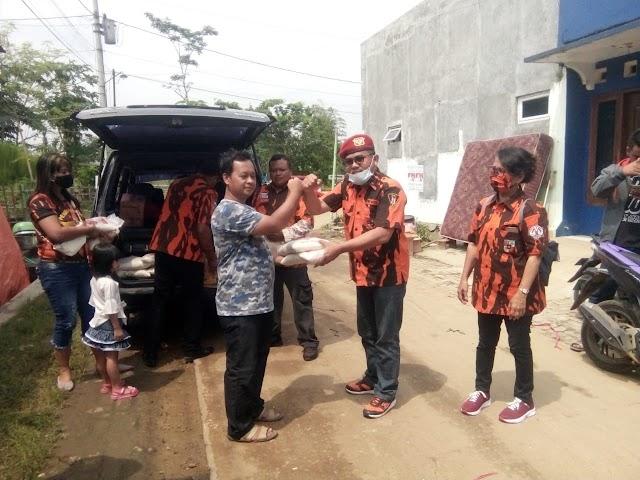 Pemuda Pancasila Koti Mahatidana Jateng Beri Bantuan Korban Bencana Banjir