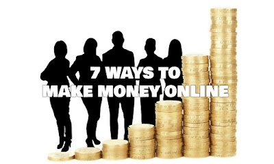7 Ways To Make Money Online, 7, Ways, To, Make, Money, Online, Work, From, Anywhere, Internet, Freedom, Flexibility,  Income, Knowledge