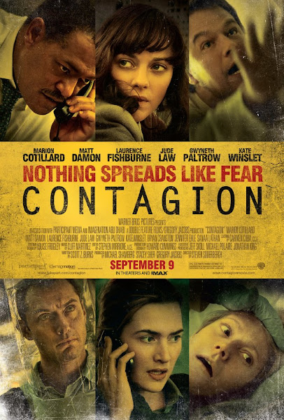 Poster of Contagion 2011 Dual Audio 720p BluRay With ESubs Download