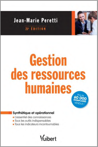 Livre : Gestion des ressources humaines - Jean-Marie Peretti PDF
