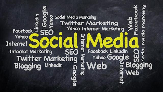 social media, instagram-twitter -facebook-youtube