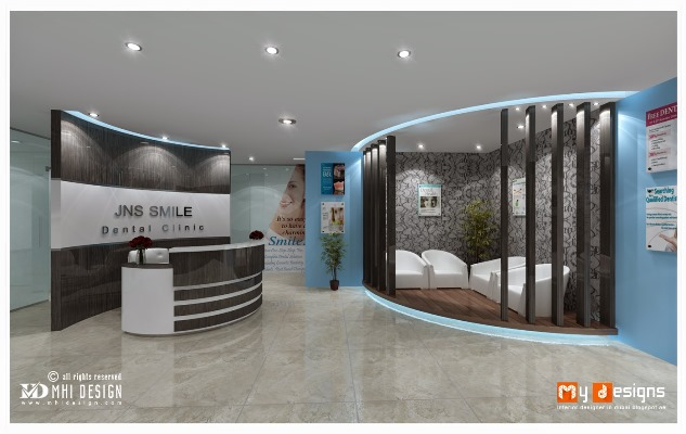 Dental office interior design gallery pictures for Dental clinic interior designs