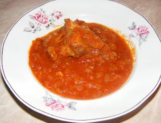 Tocanita de ceapa cu carne de pui reteta,